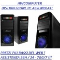 OFFERTA PC DESKTOP COMPUTER ASSEMBLATO INTEL DUAL CORE G1620 / 500GB / 4GB DDR3